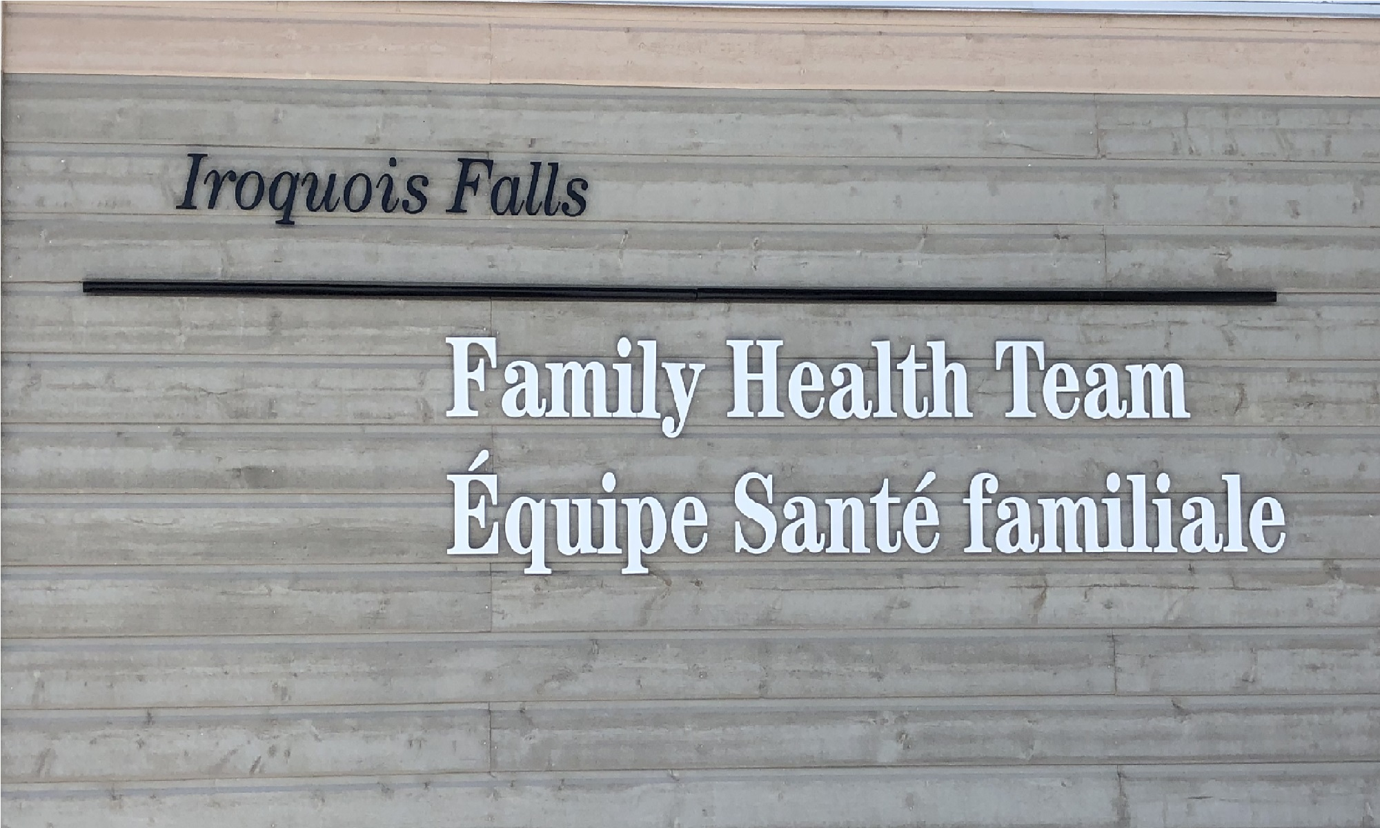 Iroquois Falls Family Health Team – Iroquois Falls Family